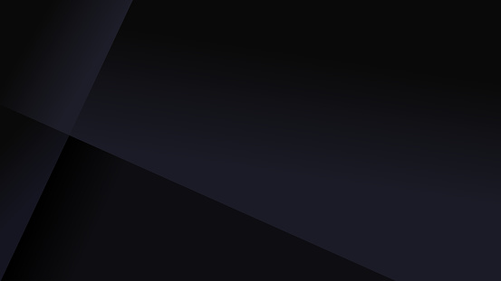 Simple black abstract background