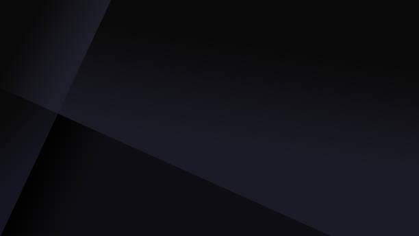 proste czarne abstrakcyjne tło - ciemny stock illustrations
