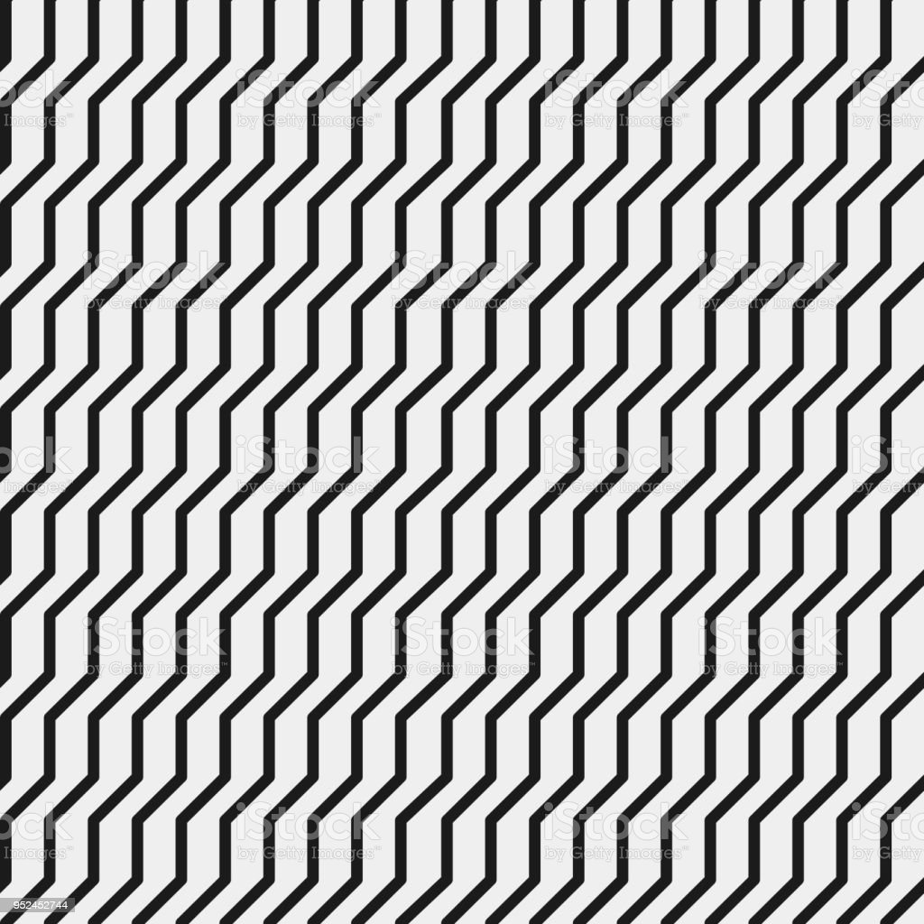 Simple Black And Grey Monochrome Geometric Pattern Background Texture Wallpaper Banner Label Vector Design Stock Illustration Download Image Now
