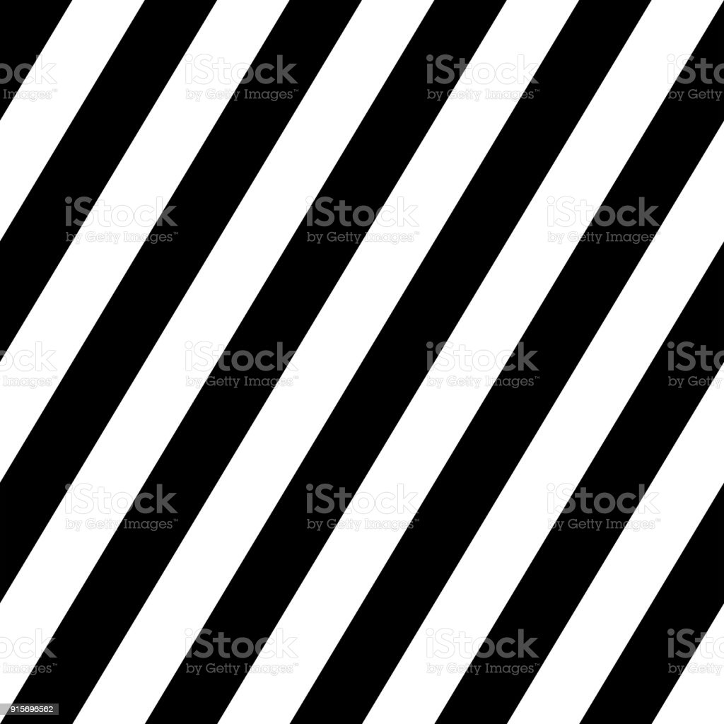 Simple Black And White Angle Sloping Lines Seamless Pattern