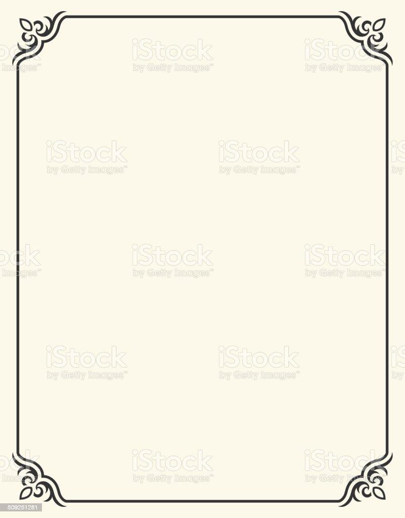 シンプルな空白フレームのフラダリ - からっぽのベクターアート素材や