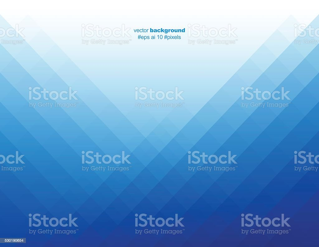 Simple blue color pixels background vector art illustration