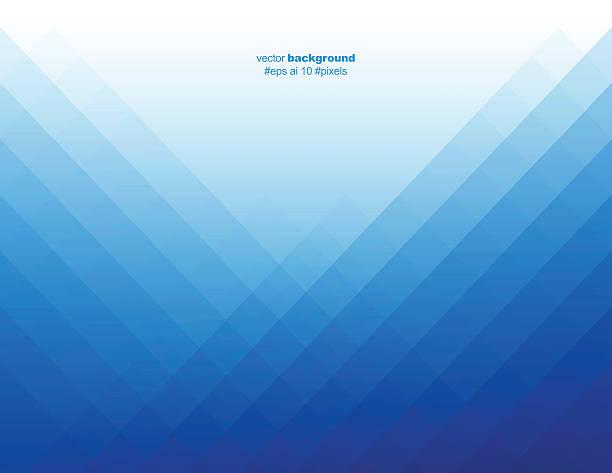 simple blue color pixels background vector art illustration