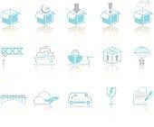 Simple blue – Logistics & Transport