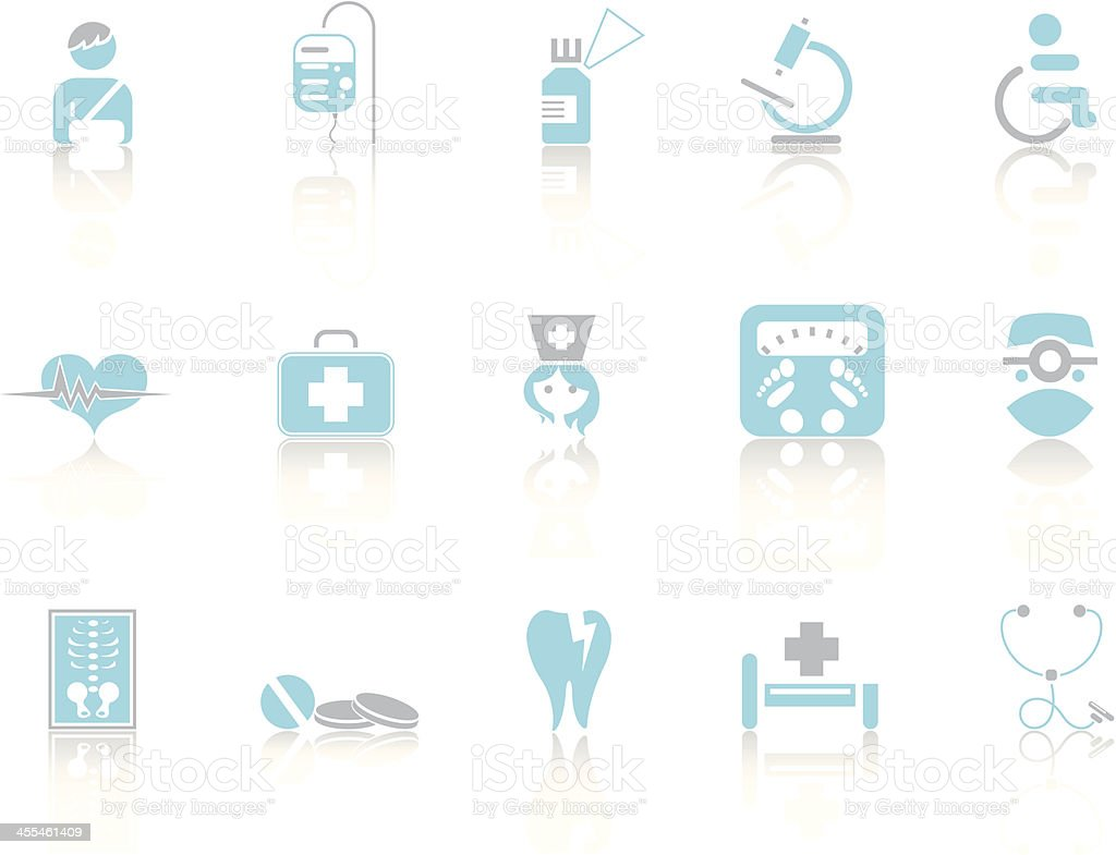 Simple blue – Medicine royalty-free simple blue medicine stock vector art & more images of bag