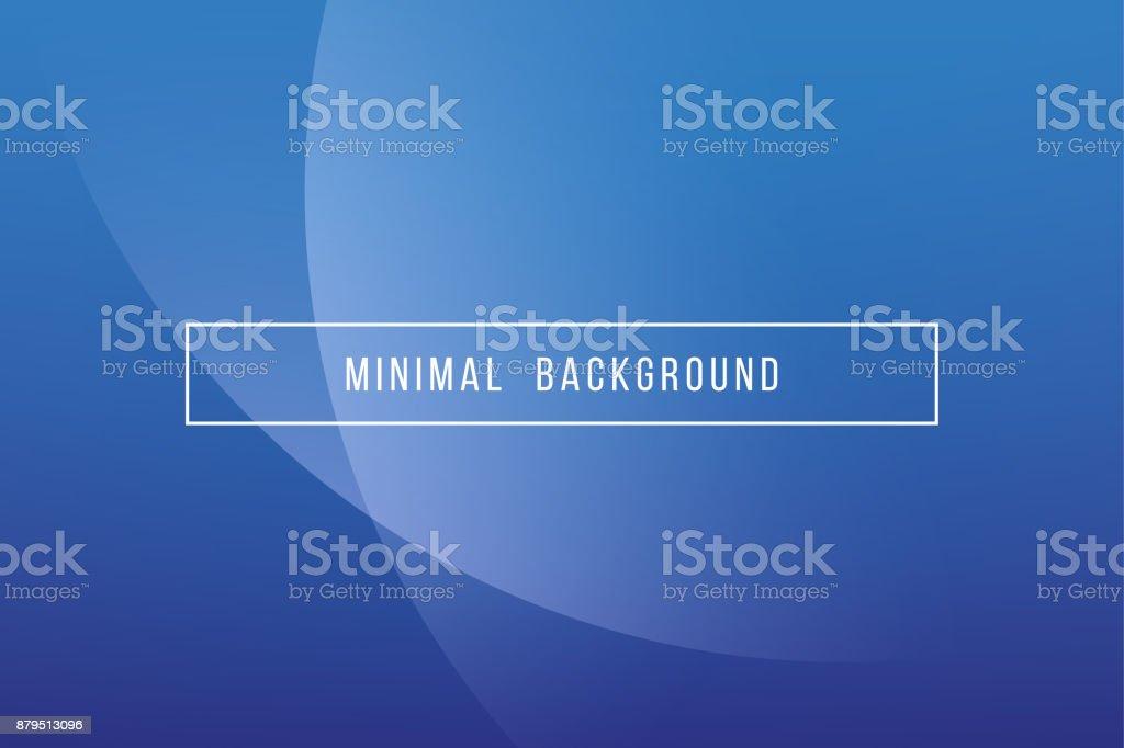 Simple Blue Minimal Modern Elegant Abstract Vector Background vector art illustration