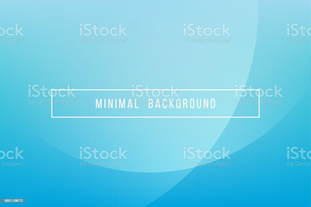 Simple Blue Minimal Modern Elegant Abstract Vector Background vector art illustration