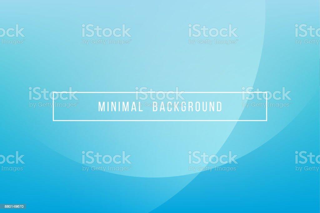 Simple Blue Minimal Modern Elegant Abstract Vector Background - ilustração de arte vetorial
