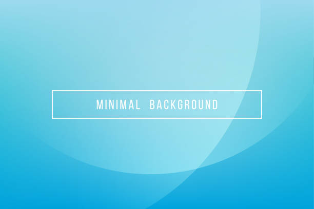 simple blue minimal modern elegant abstract vector background - abstract background stock illustrations