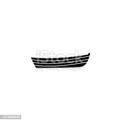 istock barco de madera superior y lateral ven ilustración vectorial ...