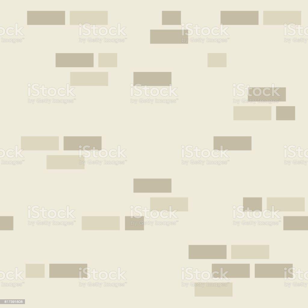 Simple mur de briques motif. - Illustration vectorielle