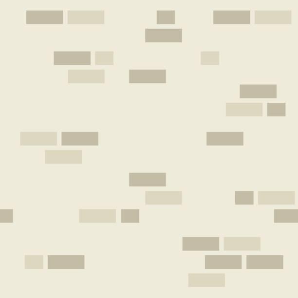 シンプルなレンガの壁の模様。 ベクターアートイラスト