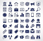 Simple business icons