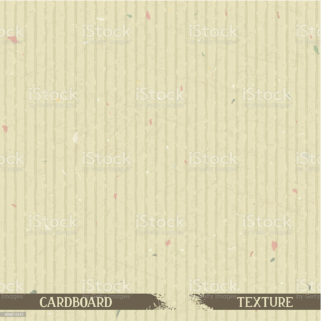 Simple cardboard texture royalty-free stock vector art