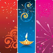 Simple vector banners for Celebration and greetings