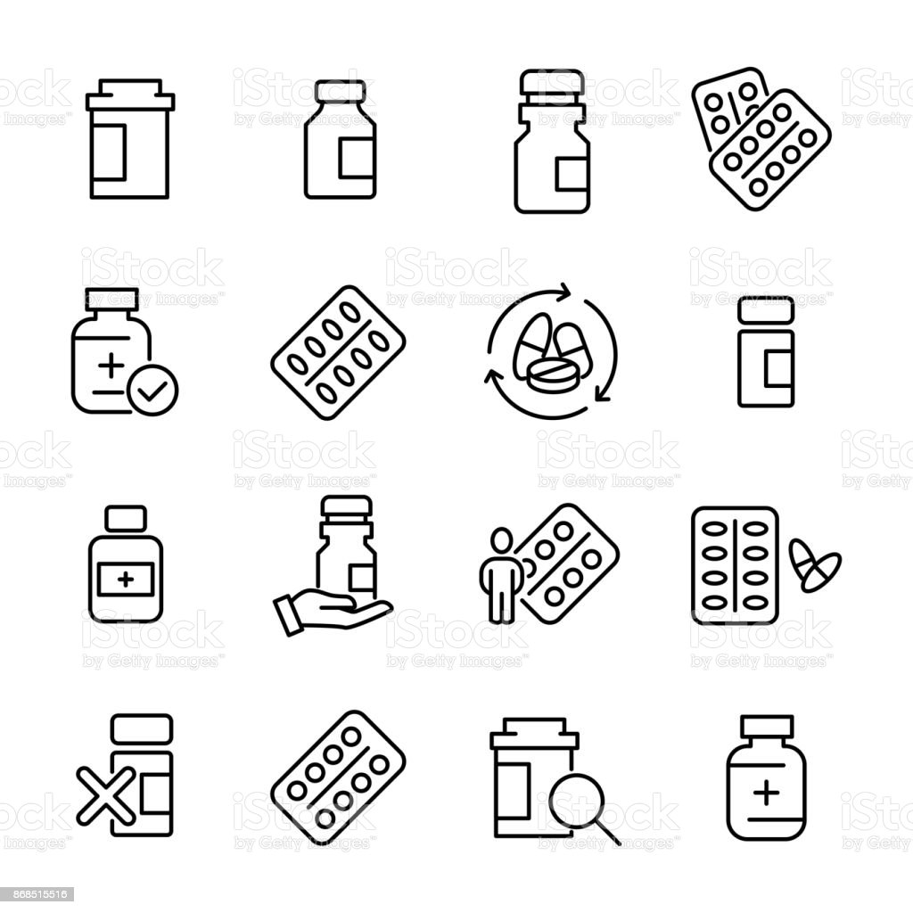 Einfache Erfassung Der Medizinischen Drogen Im Zusammenhang Mit ...