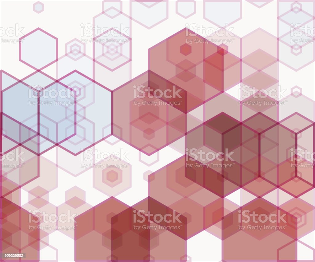 321741809e367 Simple Colorful Background Consisting Of Hexagons Stock Vector Art ...