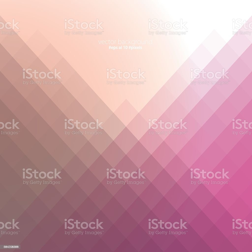 Simple colorful pixels background vector art illustration