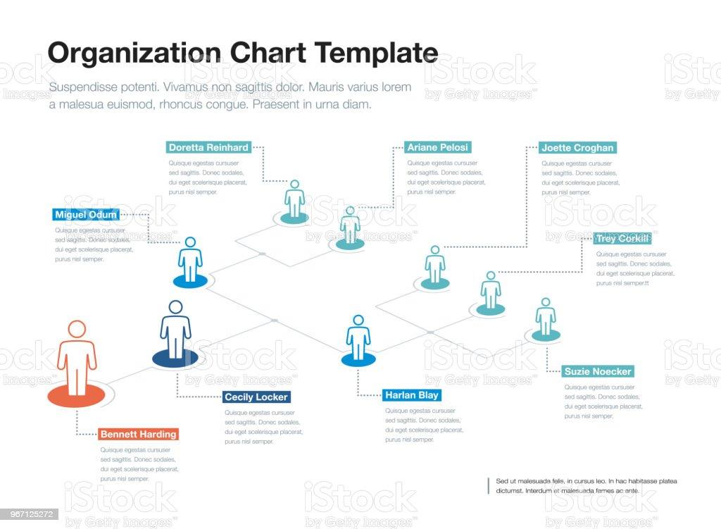 Simple company organization hierarchy chart template stock vector simple company organization hierarchy chart template royalty free simple company organization hierarchy chart template stock maxwellsz