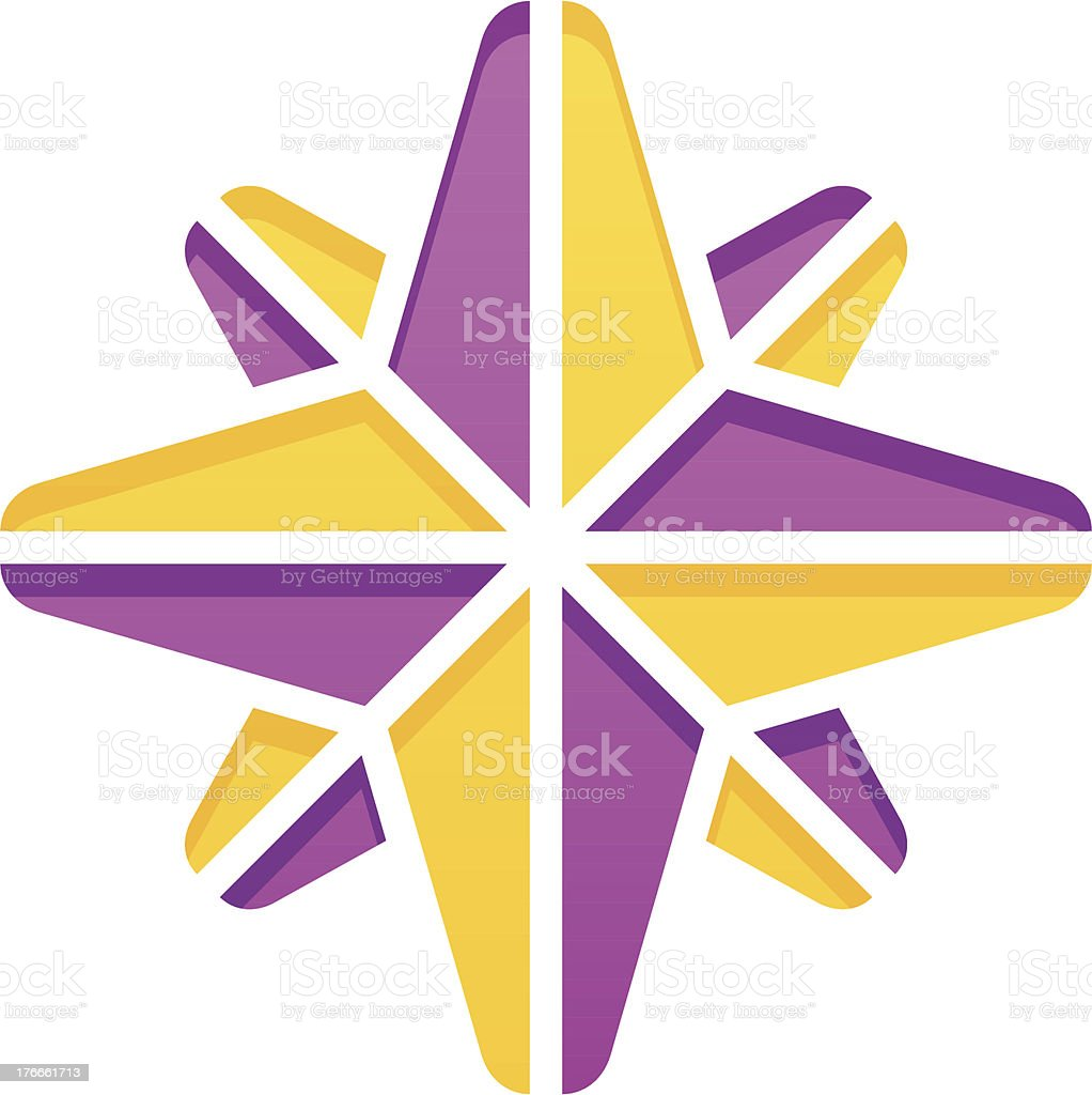 Simple compass rose royalty-free simple compass rose stock vector art & more images of compass rose