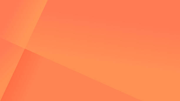 simple coral orange abstract background - kolor tła stock illustrations
