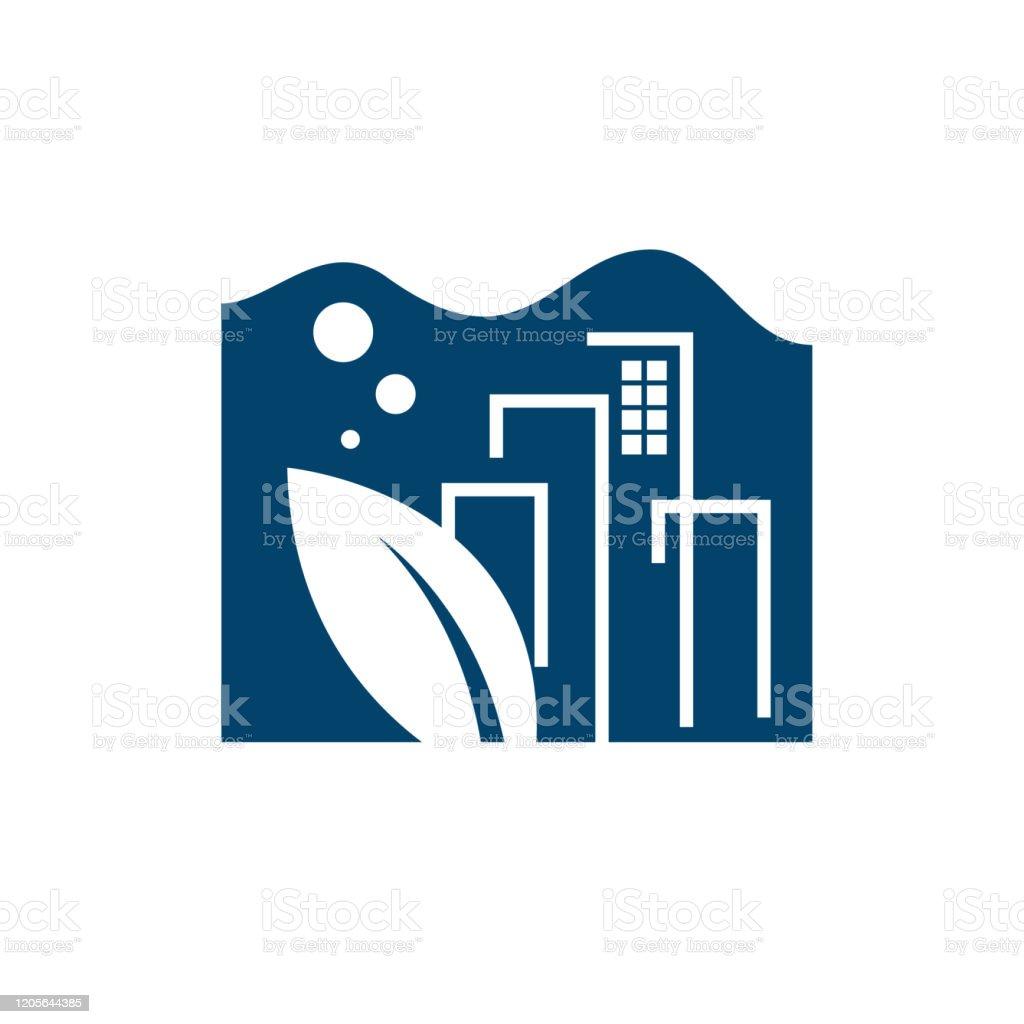 Simple Creative Aquascapes Aquarium Logo Design Vector Icons Stock Illustration Download Image Now Istock
