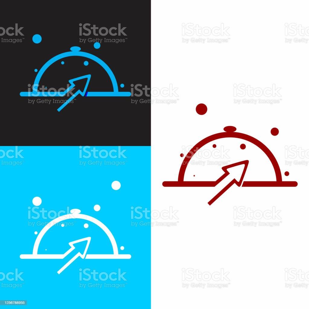 Simple Creative Restaurant Logo Design Concept Stock Illustration Download Image Now Istock