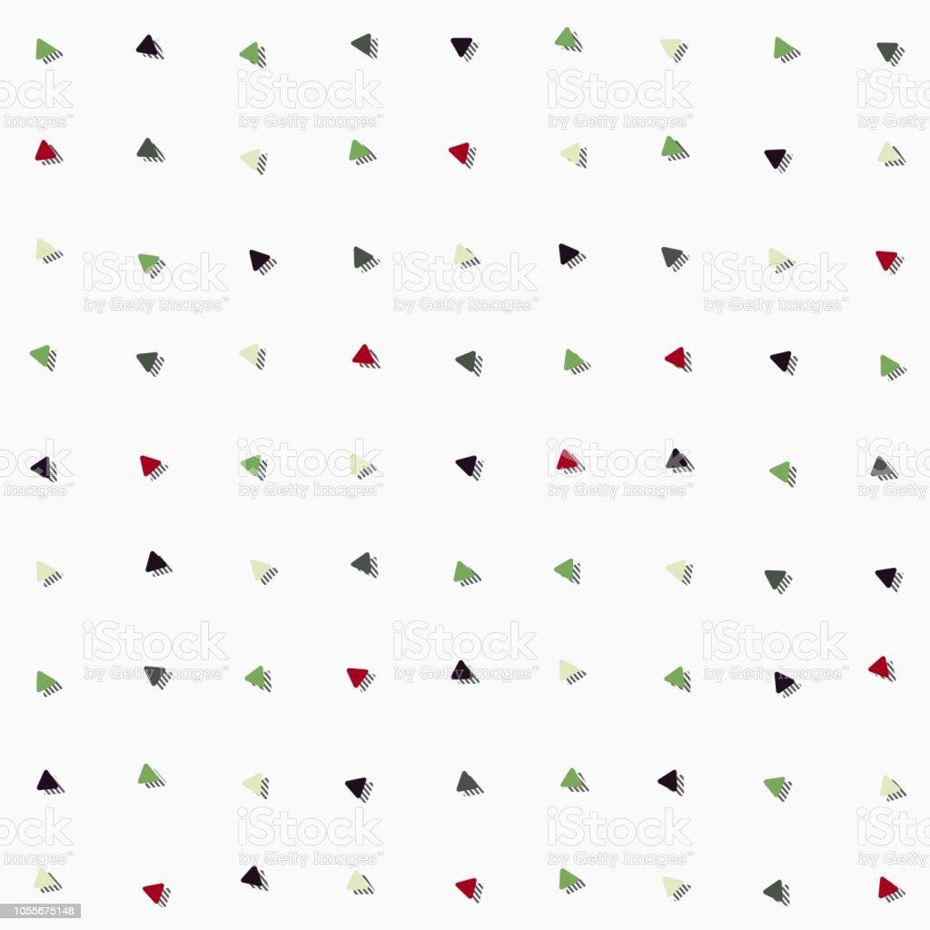 シンプルなかわいい曲線三角形幾何学的背景壁紙バナーラベルカバーテクスチャシームレスなパターンなどベクター デザインのカード ます目のベクターアート素材や画像を多数ご用意 Istock