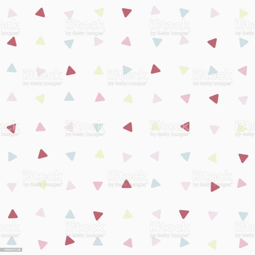 シンプルかわいい曲線三角形シームレスな背景壁紙バナーラベルカバー