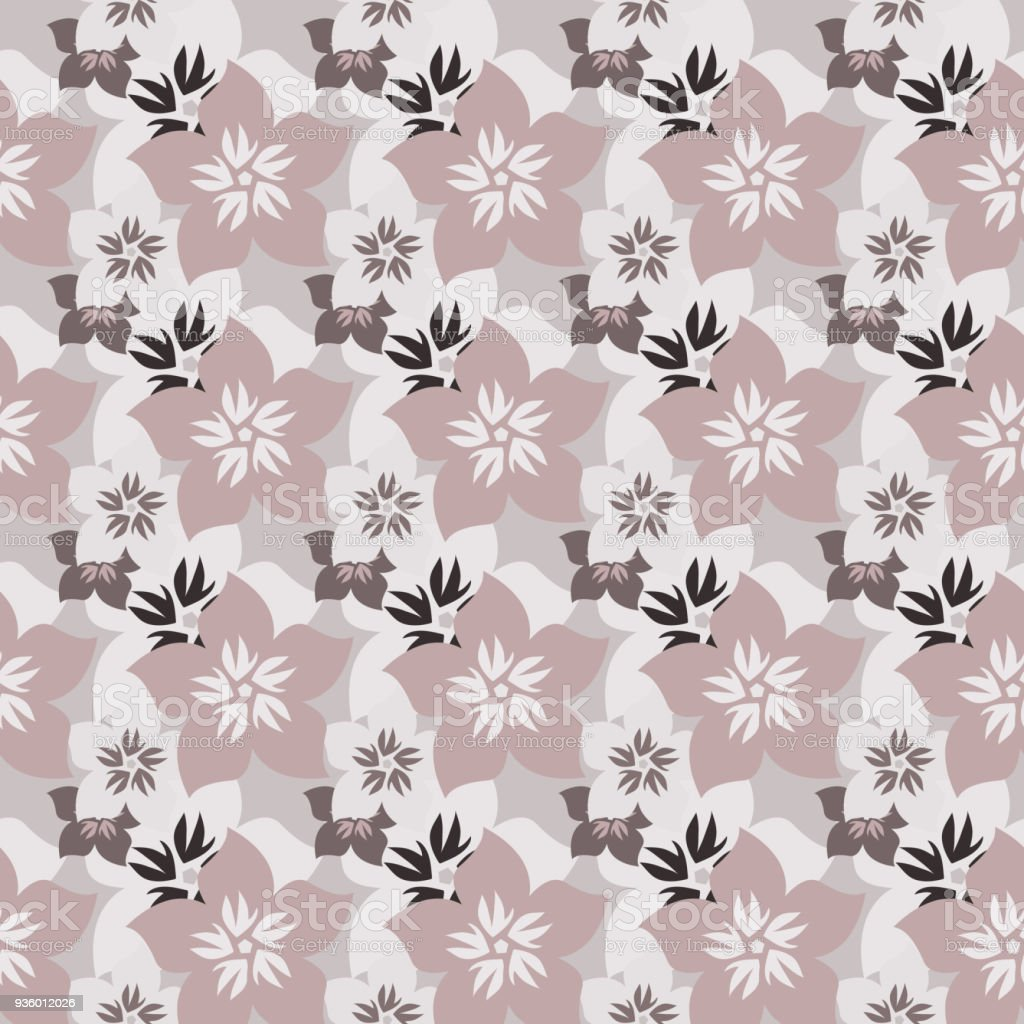 小さな花でシンプルかわいいパターンぼろぼろのシックな Millefleurs