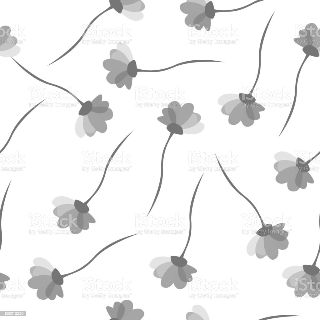 Simple Cute Pattern In Small Flowers Shabby Chic Millefleurs Floral