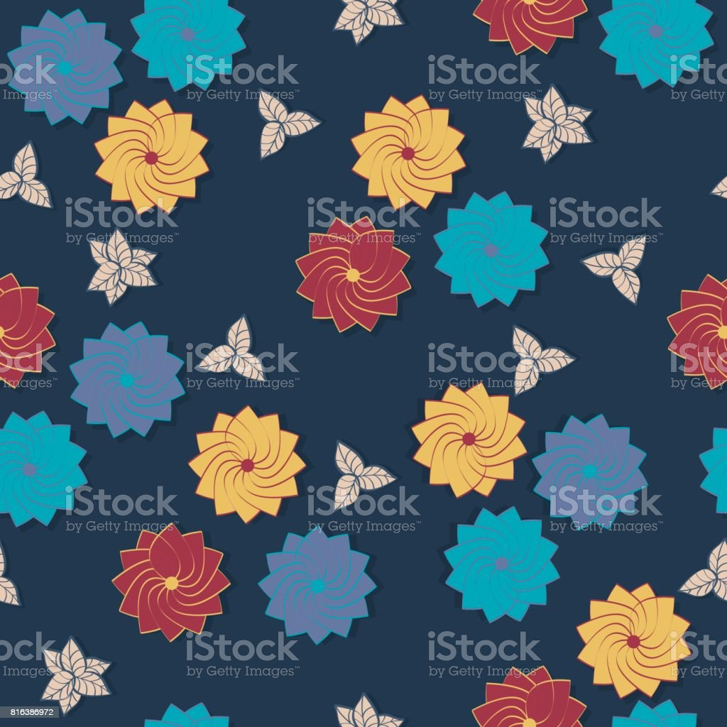 d7b8c82652b Simple cute pattern in small-scale flowers. royalty-free simple cute  pattern in