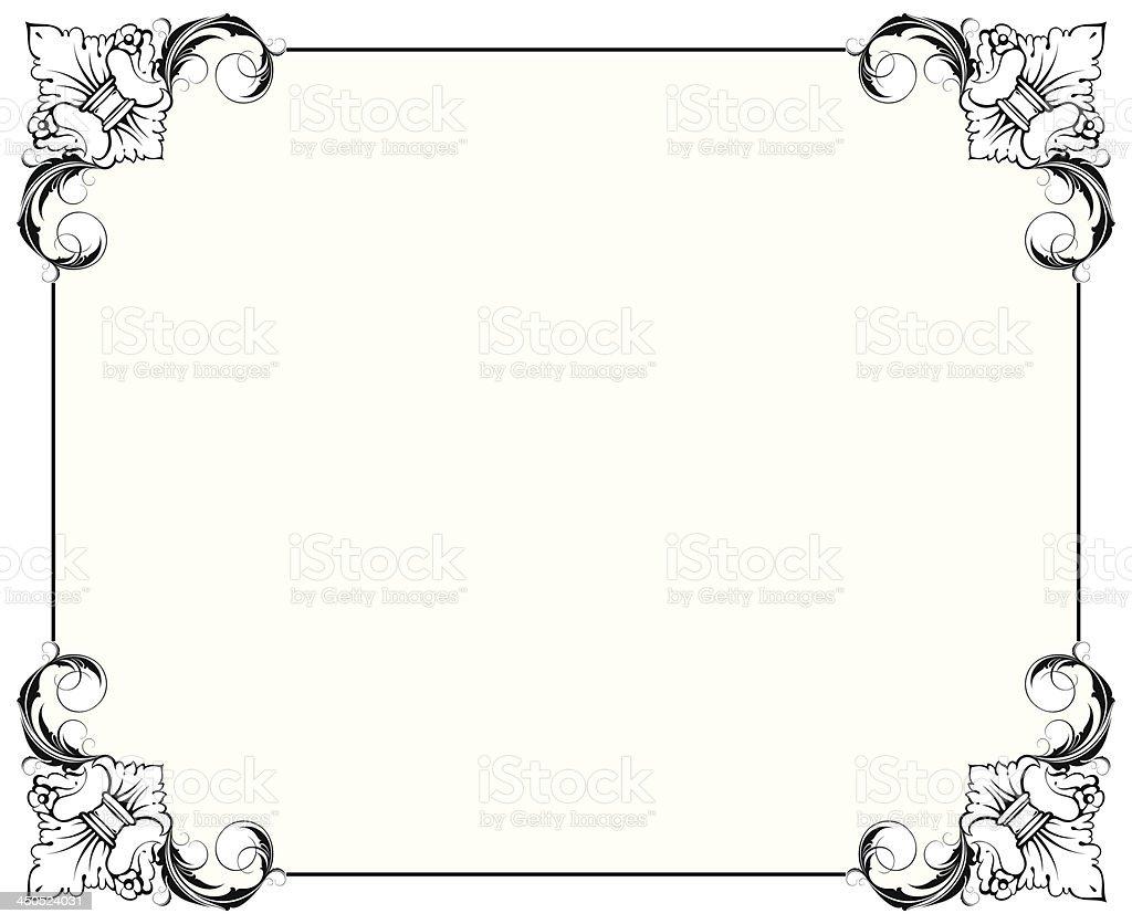 シンプルな装飾フレーム のイラスト素材 450524031 | istock
