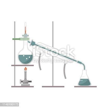 Simple distillation vector design
