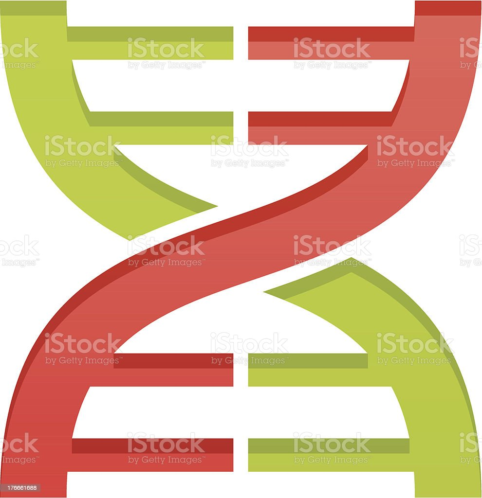 Simple DNA royalty-free simple dna stock vector art & more images of computer graphic