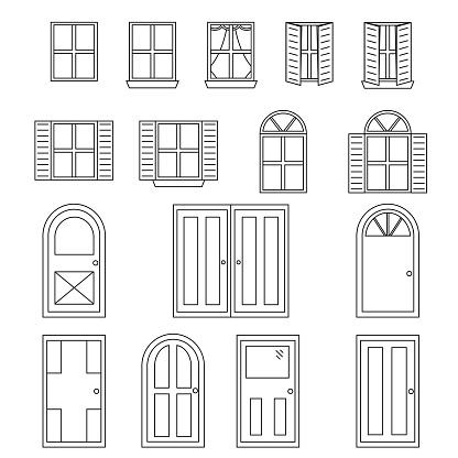 Simple Doors And Windows