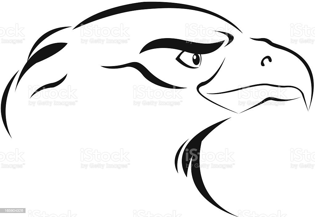 Simple Eagle Stock Vector Art & More Images of Abstract 165904326 ...