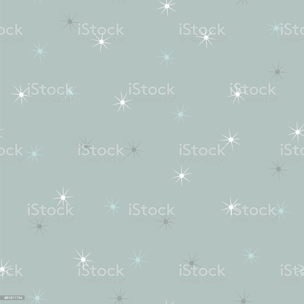 Simple falling snowflakes or stars seamless pattern royalty-free simple falling snowflakes or stars seamless pattern stock vector art & more images of abstract