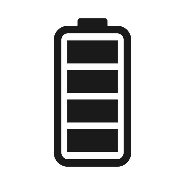 simple flat battery icons. Vector symbols and design elements. simple flat battery icons. Vector symbols and design elements. battery stock illustrations