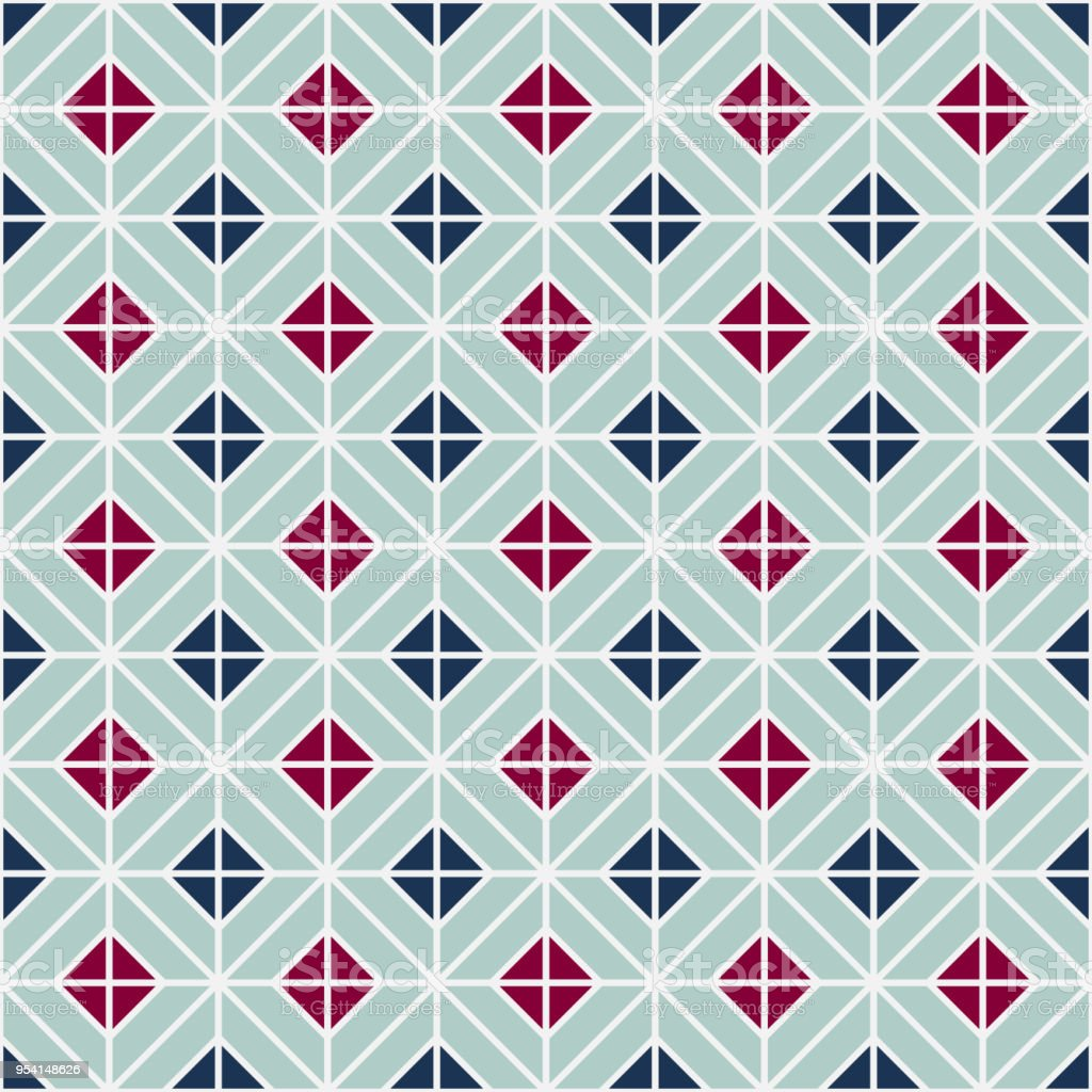 Simple Floor Tile Pattern Abstract Geometric Seamless Background ...