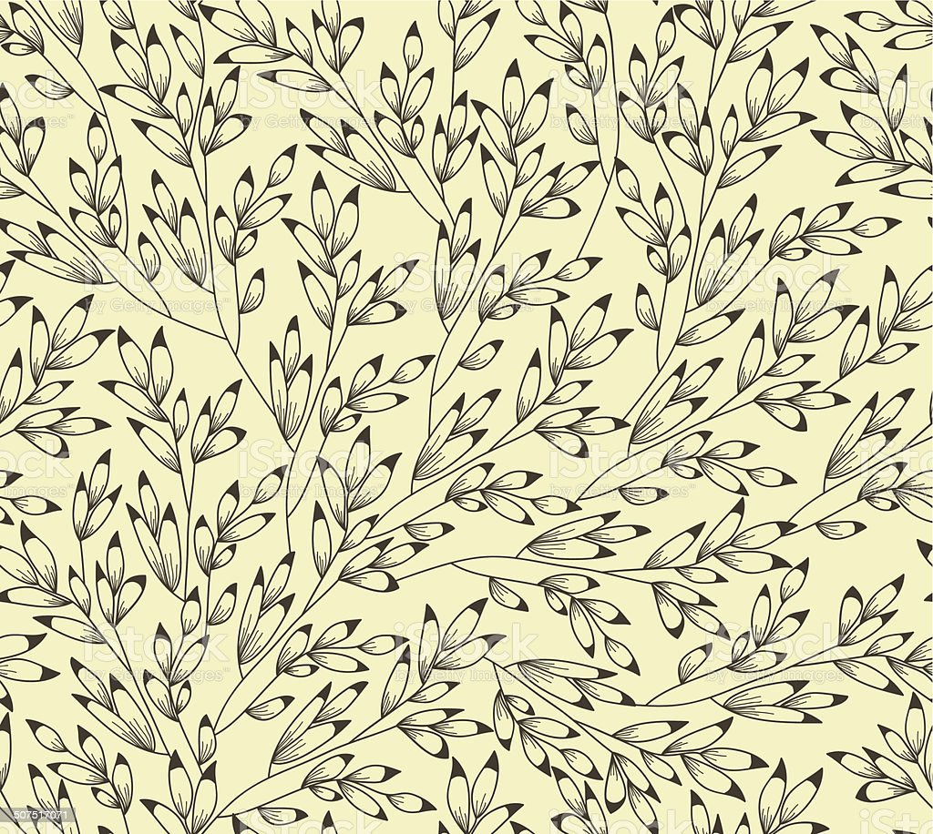 Simple Floral Background Stock Illustration Download Image Now