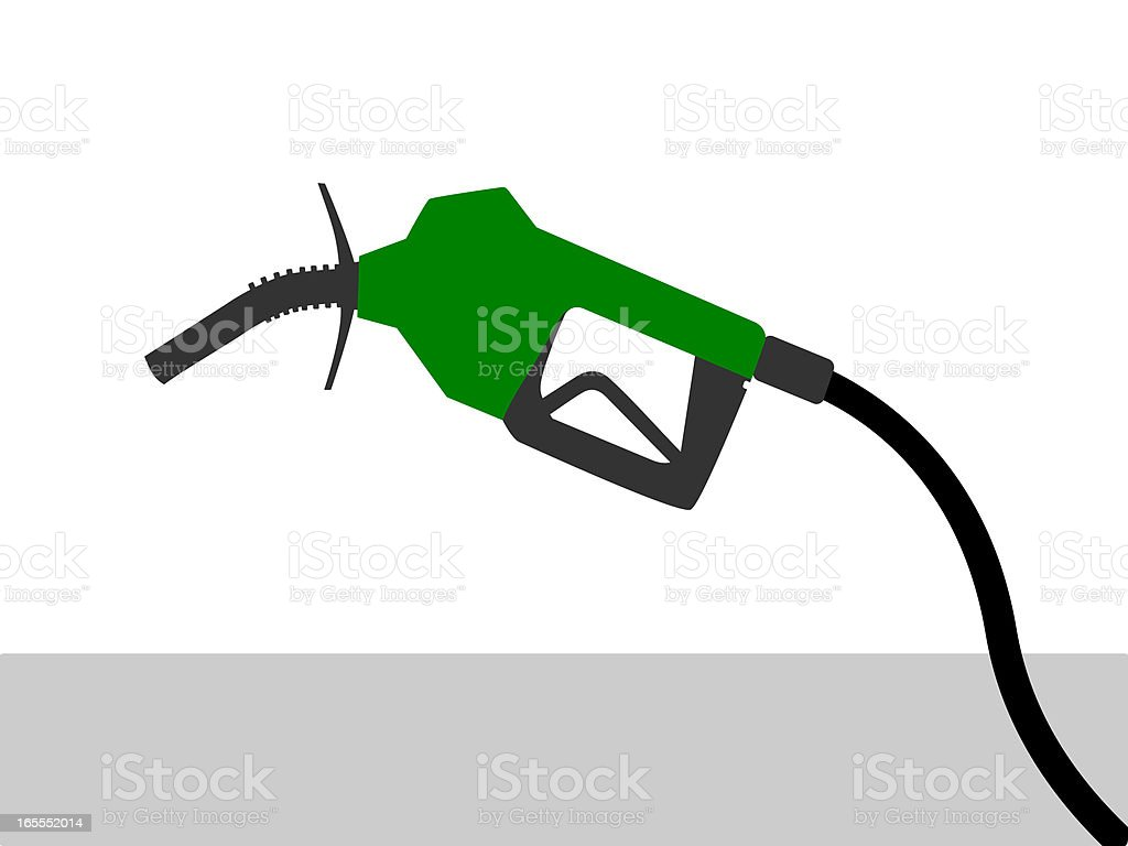 Simple Gas Pump Nozzle royalty-free simple gas pump nozzle stock vector art & more images of business