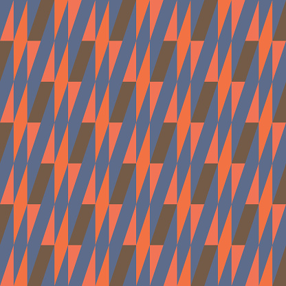 Simple Geometric Pattern Design With Basic Geometry Forms