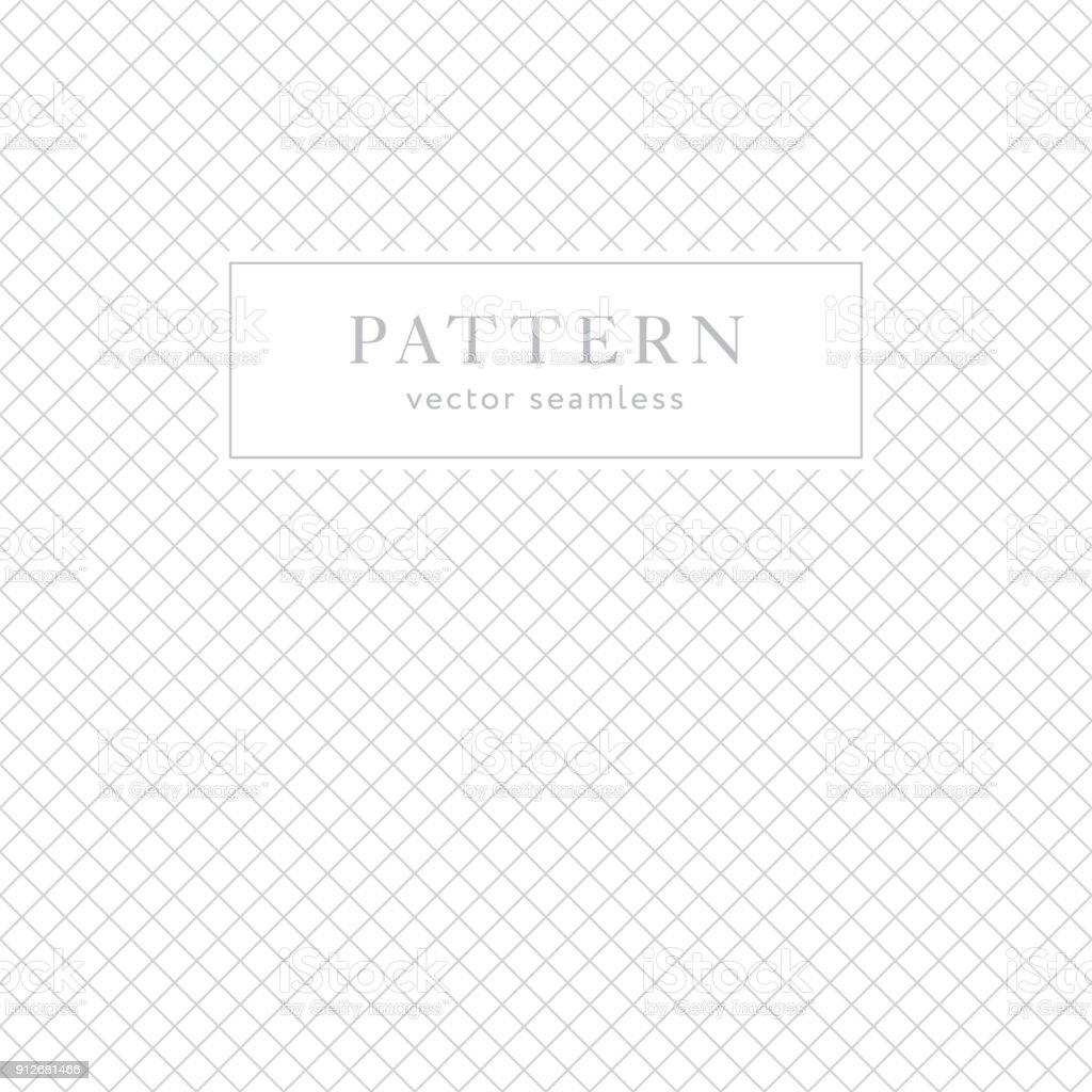 Simple geometric seamless pattern vector art illustration