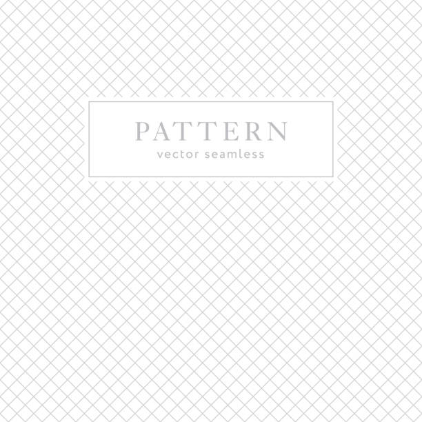 Simple geometric seamless pattern Simple geometric seamless pattern with diagonal crossing lines. Light collection. Abstract textured background design. Vector illustration for minimalistic design. Modern elegant wallpaper. fragility stock illustrations