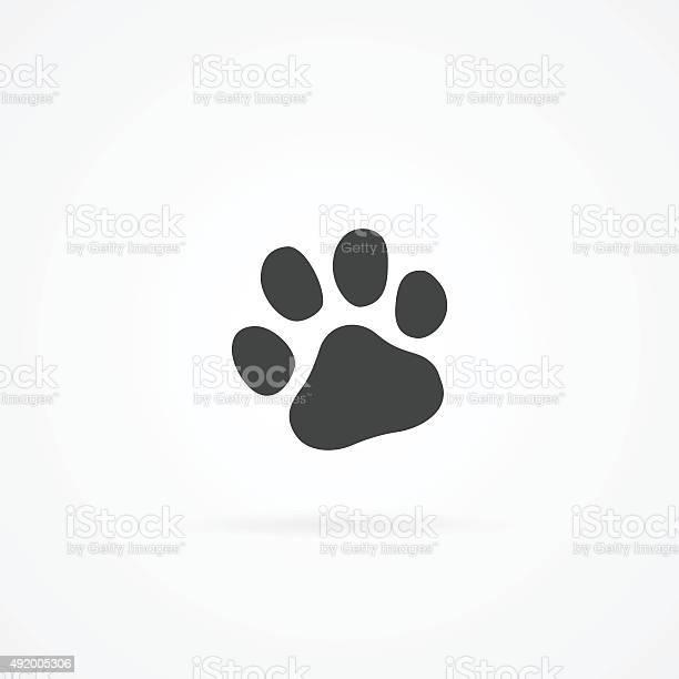 Simple gray icon of paw vector id492005306?b=1&k=6&m=492005306&s=612x612&h=j1lzo 8nqyl1u4bhrgu siuboyw8ncgxwiut7bc93ow=