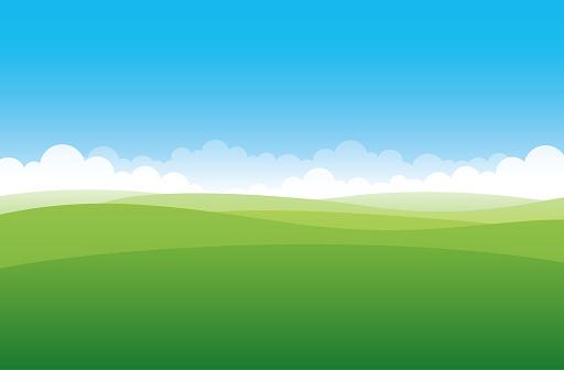 Simple green field