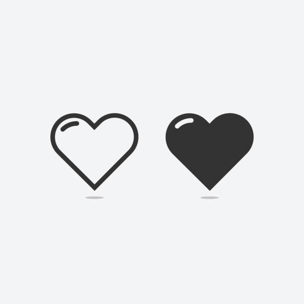 Download Valentines Day Couple Heart Emoji Set Illustrations ...