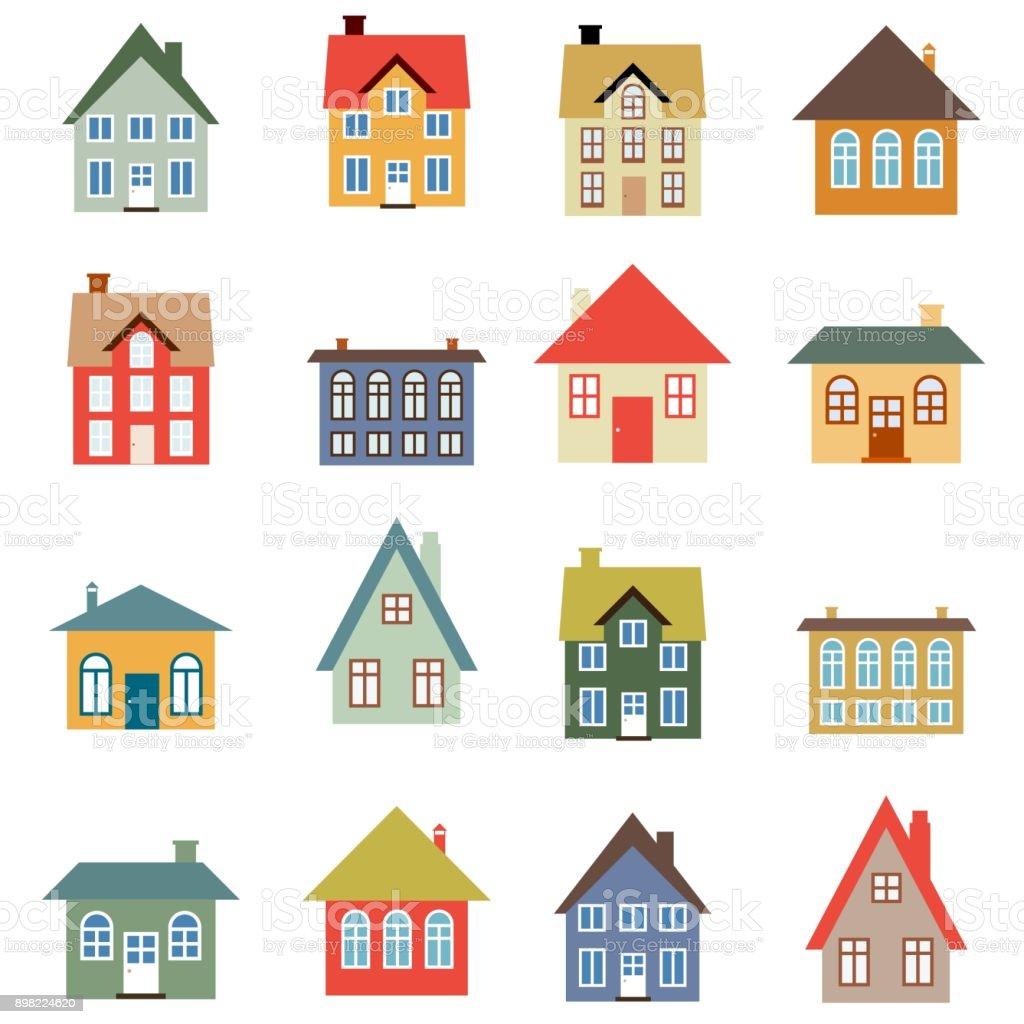シンプルな家 アイコンのベクターアート素材や画像を多数ご用意 Istock