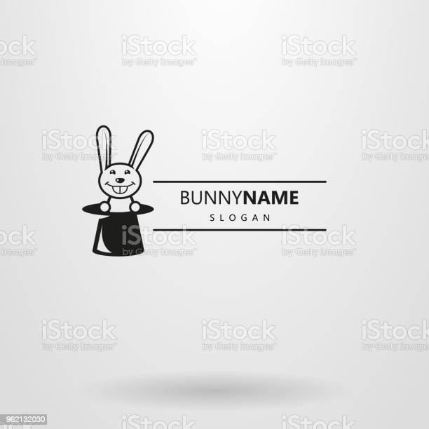 Simple horizontal vector logo with a rabbit in a hat vector id962132030?b=1&k=6&m=962132030&s=612x612&h=arkykskb4gigythfkwsr1tn pkvmw90h xc5mra6lmc=
